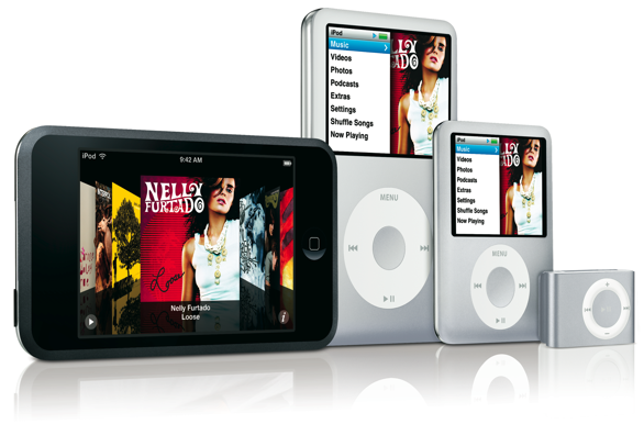 2007 iPods