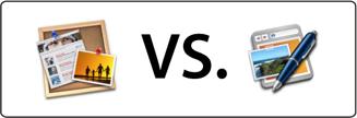 iWeb VS. RapidWeaver