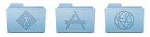 Leopard Folder Icons