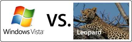 Leopard VS. Vista