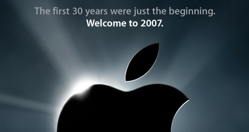 Welcome to 2007.